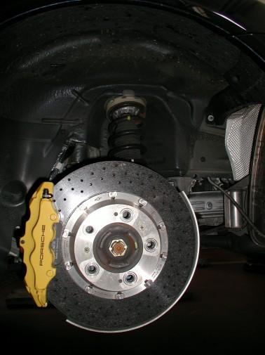 Porsche 997 GT3 con impianto frenante maggiorato