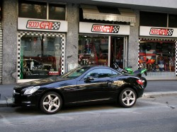 Mercedes Slk by 9000 Giri