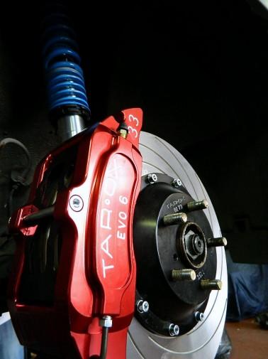Golf GT con impianto frenante maggiorato