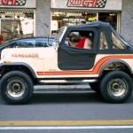 "Jeep Renegade CJ 7 ""One million dollar"""