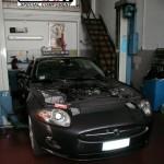 """Jaguar XK 4.2 """"The shock in blu"""""""