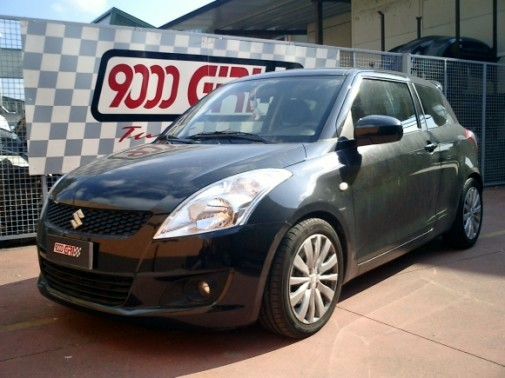 Suzuki Swift powered by 9000 Giri
