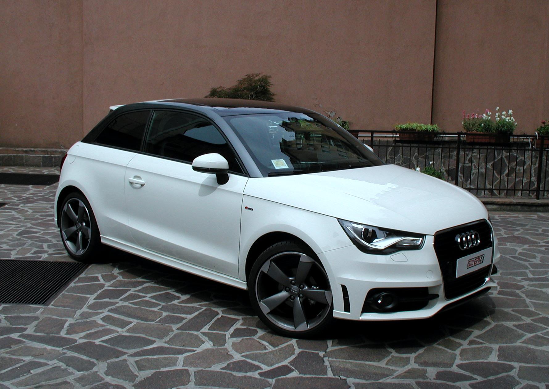 Archivio Elaborazioni 187 Audi A1 Black Amp White 9000 Giri