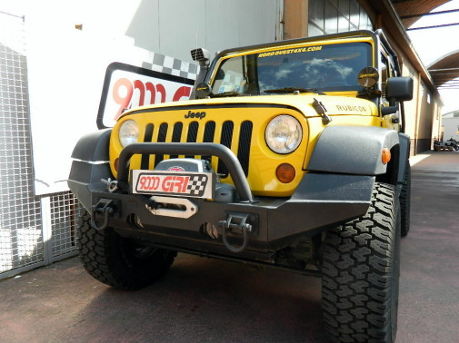 Jeep Wrangler Jk powered by 9000 Giri