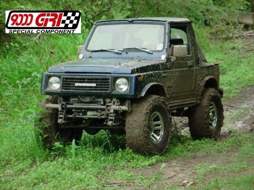 Suzuki Sj 420 powered by 9000 Giri