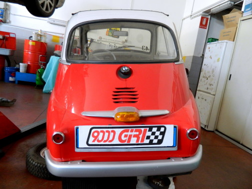 Bmw Isetta 9000 Giri