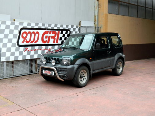 Suzuki Jimny powered by 9000 Giri