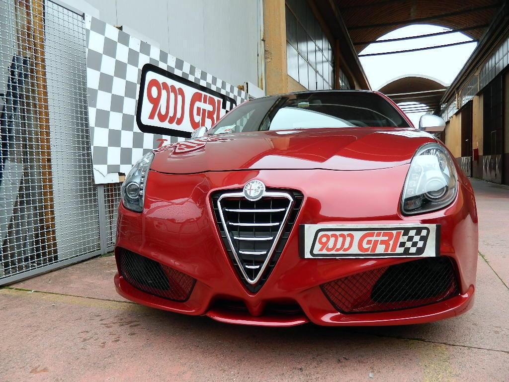 Archivio Elaborazioni \u00bb Alfa Romeo \u00bb Alfa Giulietta 1.4 Multiair TB \u201cIl fiore di loto\u201d  9000 Giri