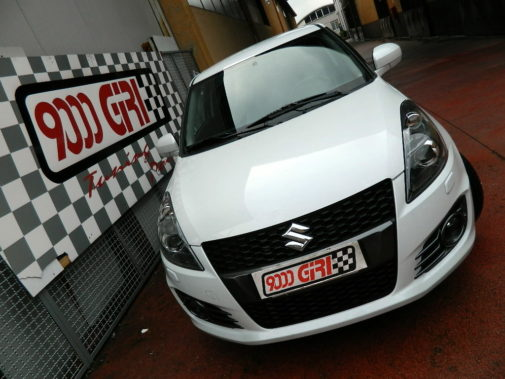 Suzuki Swift Sport powered by 9000 Giri
