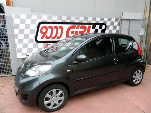 Peugeot 107 9000 Giri