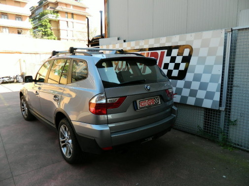 Bmw X3 powered by 9000 Giri