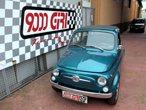 Fiat 500 9000 Giri