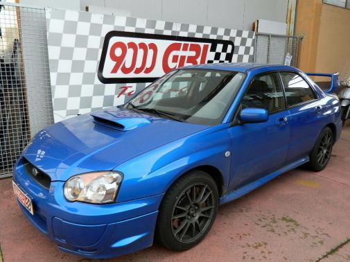 rimappatura centralia Subaru Impreza Wrx Sti 9000 Giri