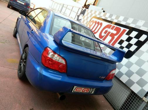 terminale artigianale Subaru Impreza Wrx Sti 9000 Giri