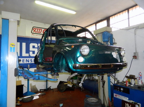 Fiat cinquecento F by 9000 Giri