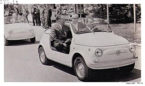 Fiat Cinquecento replica spiaggina by 9000 Giri