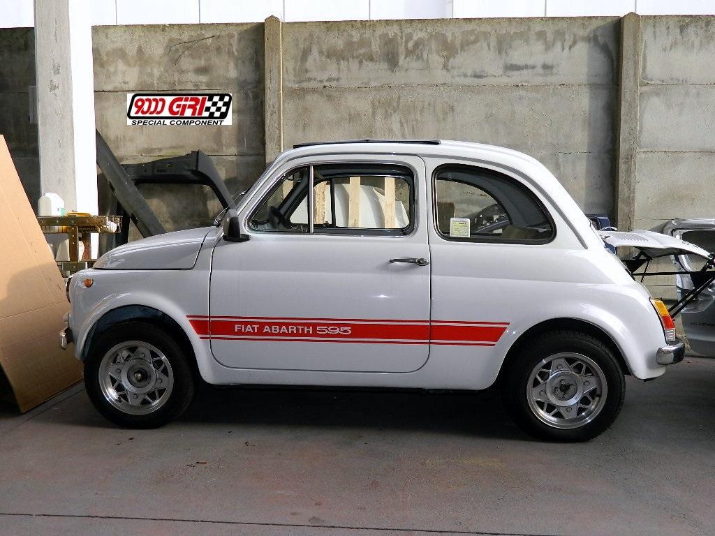 Archivio Elaborazioni 187 Fiat Cinquecento Tipo Abarth Lo