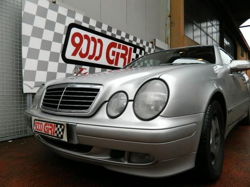 Mercedes Clk by 9000 Giri