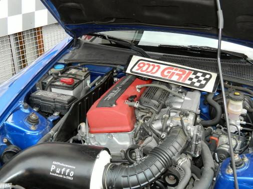 Honda S 2000 powered by 9000 Giri