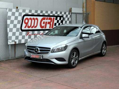 Mercedes cla by 9000 Giri