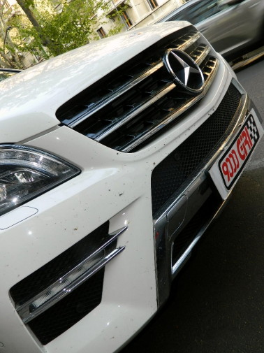 Mercedes Ml powered by 9000 Giri
