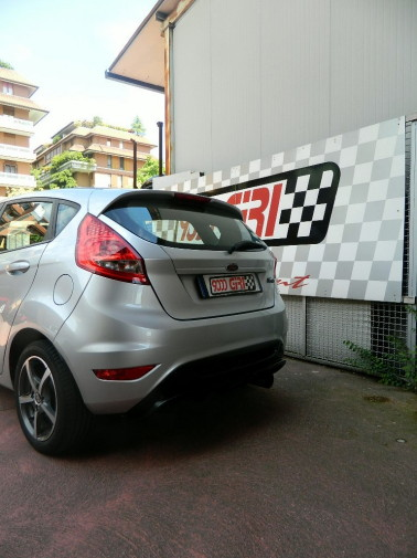 Ford Fiesta powered by 9000 Giri