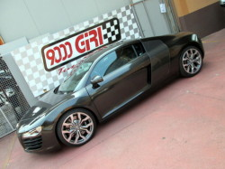 Audi R8 powered by 9000 Giri