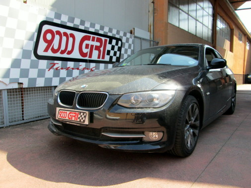 Bmw 320 powered by 9000 Giri