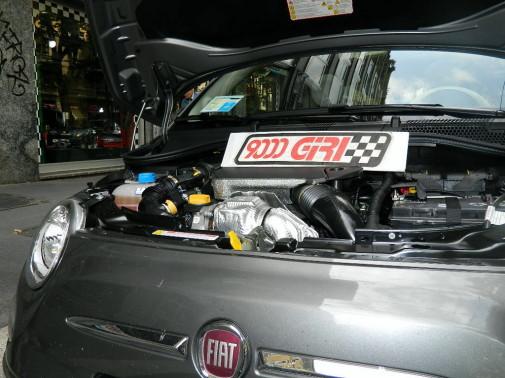 Fiat 500 1.3 Mjet powered by 9000 Giri