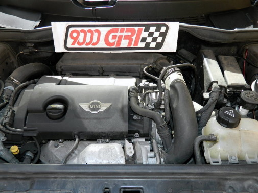 Mini Countryman powered by 9000 Giri
