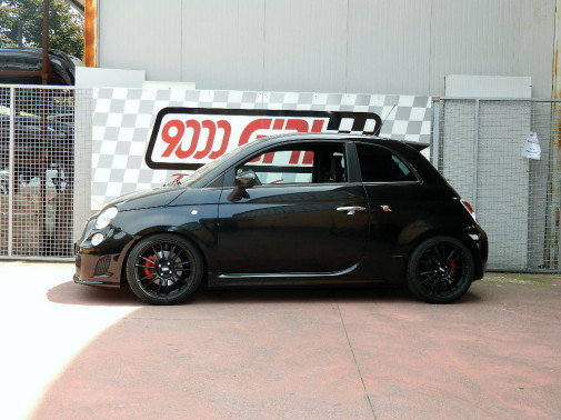 Fiat 500 Abarth EsseEsse powered by 9000 Giri