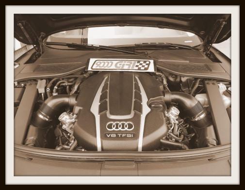 Audi S8 powered by 9000 Giri