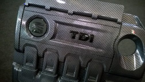 Car water printing coperture motore Seat Leon Fr by 9000 Giri