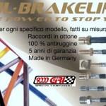 9000 Giri rivenditore e centro installazione tubi freno in acciaio Fhl-Brakeline
