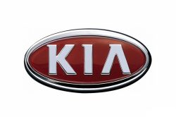 Kia car brand logo