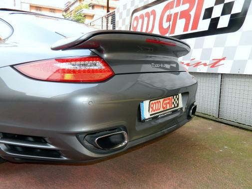 Porsche 997 turbo MkII powered by 9000 Giri