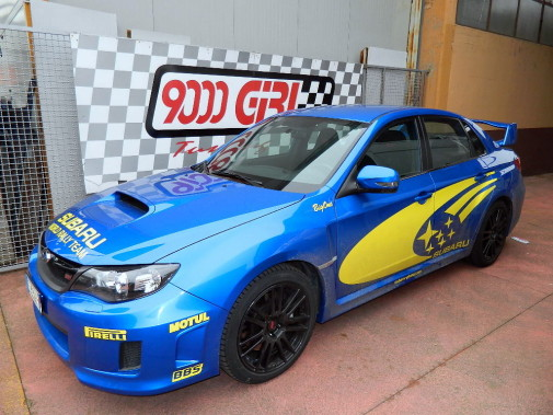 Subaru Wrx Sti 2.5 powered by 9000 Giri