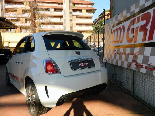Scarico magneti Marelli Record Monza Fiat 500 Abarth