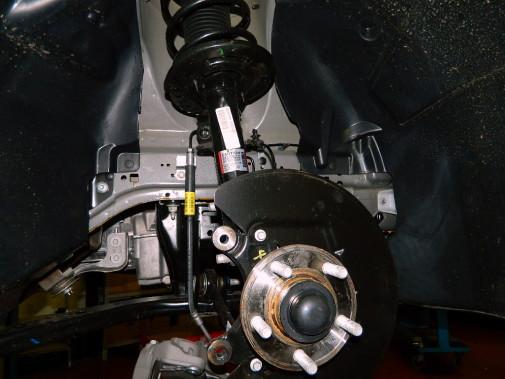 montaggio molle Eibach Ford Mustang
