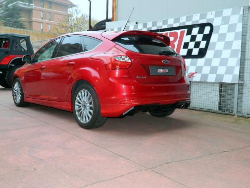 minigonne laterali + sotto paraurti posteriore Ford Focus