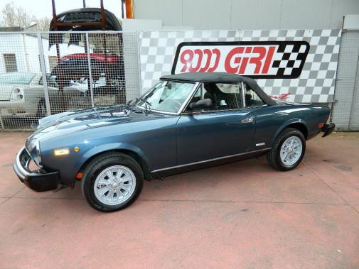 restauro Fiat 124 Spyder America by 9000 Giri