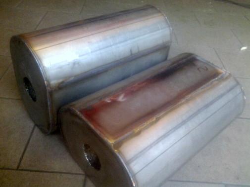 Terminali di scarico sportivi artigianali in acciaio inox by 9000 Giri