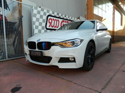 Bmw 320 d Touring by 9000 Giri
