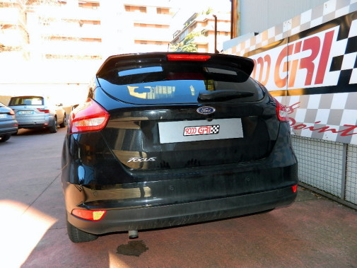 spoiler Ford Focus by 9000 Giri