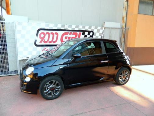 Fiat 500 powered by 9000 Giri