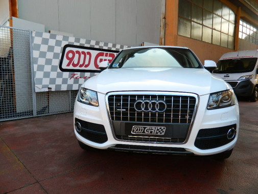 Audi Q5 2.0 Tdi powered by 9000 Giri