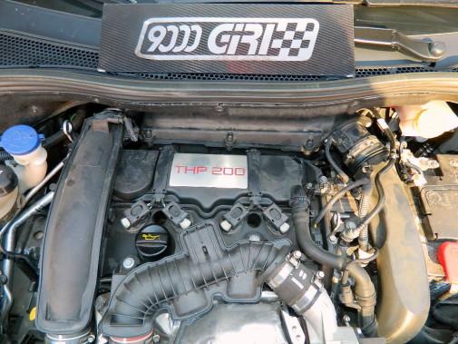 Peugeot 208 Gti powered by 9000 Giri