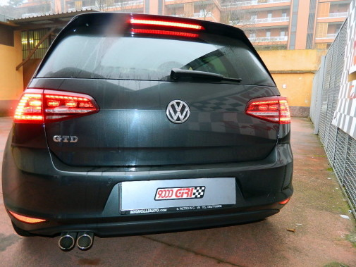 Vw Golf VII 2.0 Gtd powered by 9000 Giri