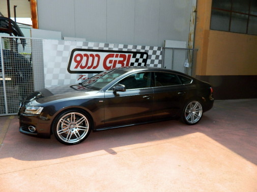 Audi A5 3.0 Tdi powered by 9000 Giri