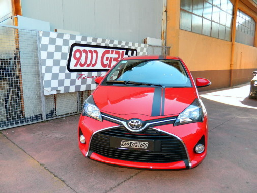 Toyota Yaris powered by 9000 Giri